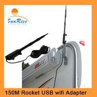 antenna wall mounts - Wall Mounting Kit Outdoor Wireless USB Adapter km Long Range Wlan USB adapter High power outdoor Wifi Rocket dBi Antenna