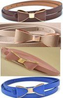 dress factory - Leather Belts for Women Cause Dresses Bowknot New Brands Good Quality designer belt factory price