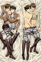 attack on titan manga - Anime Manga Shingeki no Kyojin Attack on Titan Pillow Case Cover