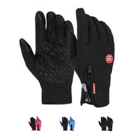 Wholesale S5Q Men Women Winter Waterproof Outdoor Climbing Slip Warm Gloves Touch Gloves AAAFUR