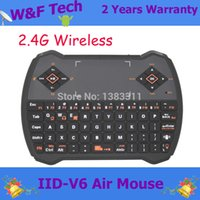 air chat - Fashion V6 fly air mouse Keyboard Touchpad Air Mouse Audio Chat Ghz wireless keyboard used for PS3 PC TV