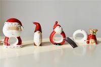 bathroom ring holder - Christmas Ornaments Christmas Set of Very Cute Plastic Canvas Santa Christmas Napkin Ring Holders Santa Napkin Ring