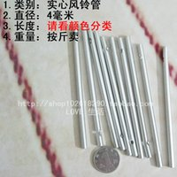 bamboo wind chimes diy - Silver diameter mm solid diy material solid color wind chimes tube