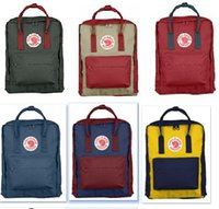 Wholesale Kanken Classic and Mini Backpack casual school bags waterproof sportsl bag
