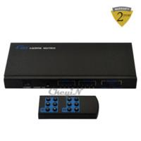 audio switch remote - Hdmi Switch x2 Matrix HDMI Video amp Audio Signal Splitter With Remote Control Support Full HD P p HD006H