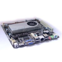 Wholesale Mini ITX Motherboard Intel Atom D2500 with COM LTP Pin NM70 Graphics GMA CM Atom Mini PC Motherboard UEFI BIOS RJ45 HDMI VGA USB