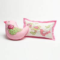baby car seat cover set - 2pcs set Shabby Chic Cushion Cover Pillow Pillow Case Kids Cartoon Toy Embroidered Car Bed Seat Sofa Baby Play capa de almofada
