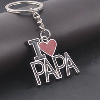 Wholesale Men s Key Chain Father s Day Christmas Gift Valentine s Day Gift Lettering to Send Father Korean Gift Christmas Key Chain GX