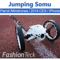 jump in - 2015 New Xmas Gift Jumping Sumo In Stock Ready to Ship Parrot Ar Drone Minidrones Real Photo RC Car Rolling Spider