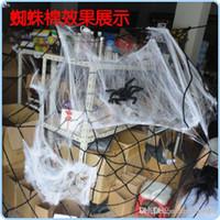 halloween cobweb - Halloween supplies bar decoration accessories manufacturers cobweb spider multi color cotton