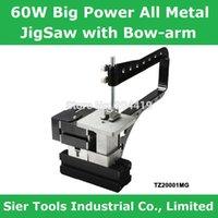 band saw - 60W rpm Powerful Meta Bow Arm Jigsaw TZ20001MG Big Power All metal jigsaw with bow arm mini instructional saw lathe