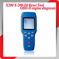 Wholesale Oil Reset Tool X X200 Scanner New Arivals Professional OBD2 Code Scanner with High Quality Best Price