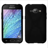 Wholesale For Galaxy J2 X line TPU case New X style Design Soft TPU Gel Case For Samsung J2 J200F By DHL shipping