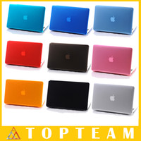 Wholesale HOT Crystal Cases For Apple Macbook inch Skin Hard PC Protective Cover Shell Colors Optional