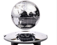 Wholesale Eco Friendly Plastic Led Light Magnetic Levitation Floating Globe anti Gravity Rotation Home Decoration Gifts crafts