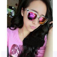 adult hipsters - 2016 NEW Fashion Rectangle Frame Sun Glasses For Women Men V Letter Brand Cool Design Hipster Sunglasses