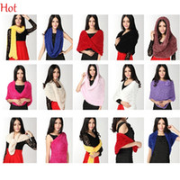 Wholesale 2015 Winter Ladies Magic Snood Scarf Soft Multifunctional Shawl Outdoor DIY Multi Performance Scarves Stretch Wear Gift Wrap Cape SV005414
