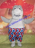 belly costumes for sale - big belly grey shark costume grey shark mascot costume for sale