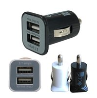 charger ipad mini - Top Quality Port Practical Mini Universal Dual USB Car Charger Adapter Bullet for iPad iPhone Samsung s3 s4 s5 s6 Blackberry DHL Free
