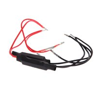 Wholesale Universal Pair Motorcycle Car LED Indicator Flasher Resistors Relay Adapters V W