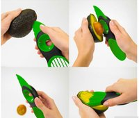fruit slice - 3 in Fruit Vegetable Tools Avocado Mango Slicer Pitter Splitter Slices Kitchen Accessories Cooking Tool with original retail box