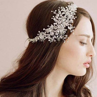 bridal crown - Bridal Hair Accessories Korea Shining Wedding Bridal Headpiece Weeding Tiara Crown Lady Headband Crown Wedding Hair Clips