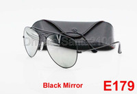 best male sunglasses - 20Pairs Best Quality Mens Male Designer Pilot Sunglasses Outdoorsman Sun Glasses Eyewear Black Mirror mm Glass Lenses With Box And Cases