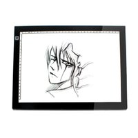 Wholesale Free DHL A2 LED Light Pad Tracing Boards Ultra Thin Animation Tatoo Tracing Light Boxes Acrylic Copy Board