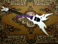 Wholesale New Arrival white Strings BC Rich Electric Guitar Very Beauty High Quality