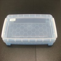 Wholesale Lattice Transparent plastic tools storage Box Components Box IC accessories SMD storage box By EMS
