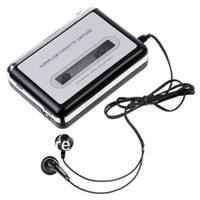 Wholesale Portable USB Cassette Tape Converter to MP3 CD Player Tape To PC Super USB Cassette To MP3 Converter Capture