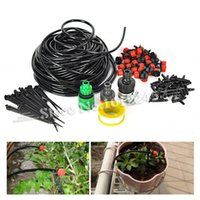 Wholesale m DIY Micro Drip Irrigation System Plant Automatic Self Watering Garden Hose Kits with Connector x Adjustable Dripper
