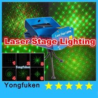 mini laser light show - 6 in Lighting Fixtures Laser DJ party disco light Sound Activated Mini Laser Animated Stage Light Wedding Party Small Party Show