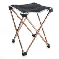Wholesale Outdoor Folding Chair Seat Fishing Stool Leisure Camping Portable Supplies