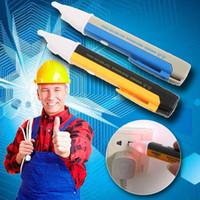 Wholesale Led Electric Voltage Tester Detector Sensor Pen Alert Stick Volt Sensor V without battery ZH079 order lt no tracking
