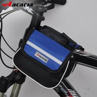 acacia sports - Acacia Bicycle Bag Road Mountain Bike Cycling Bag Sport Frame Front Tube Bag Double Sides Pack Pouch Saddle Bag