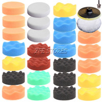 Wholesale 29Pc mm inch High gross Polishing Pad Buff Pad Kit For Car Polisher quot
