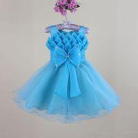 baby nest - baby girls evening dress new fashion gilrs nest party dresses flower child s wedding dress