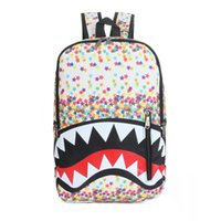 animated bags - Animated cartoon design backpack Portable large capacity leisure travel bag Personality fashion girl s school bag