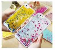 iphone 4 clear case - liquid Fish Ocean Star Glitter sandglass Hard clear Plastic cover case For Iphone S S Plus Samsung Galaxy S3 Note N9100