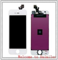 Wholesale High Quality LCD Screen for iPhone G Display Front Assembly Touch Panel Digitizer Full Set Black White AF195