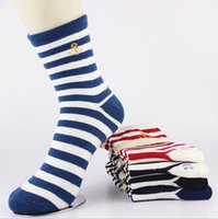 Wholesale Unisex Hosiery Summer Stripe Unisex stocking long socks classic design sport socks hiking camping socks Field socks S105L