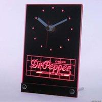 Wiht Backlight dr pepper - tnc0133 Dr Pepper Drink Good For Life Table Desk D LED Clock