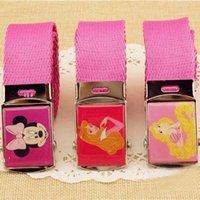 Wholesale Cartoon Belt Sale Kids Belt Boys Girls Braided Belts New Childrens Korean Wide Belt Children Accessories Fashion Belt