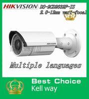 Wholesale Hikvision IP camera DS CD2632F IS Varifocal mm Lens MP P HD Network camera Infrared CCTV camera POE IP66