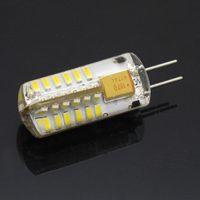 Wholesale High Quality G4 SMD leds Crystal Chandelier w AC DC V Silicone LED bulb Non polar Pendant light