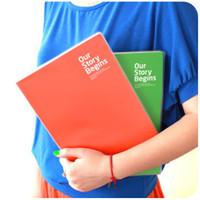 Wholesale C282 Korea creative stationery notebook Beijing Paris environmental A4 notepad diary book