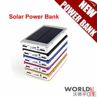 bank mobil - NEW Solar Power Bank mah Portbale Solar Mobile Power Supply Battery for All Mobil Phones Can Sun Charge