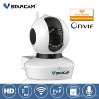 Wholesale Vstarcam C7823WIP P Wifi IP Camera with Megapxiel P2P IP Camera P mini Onvif Indoor wireless IP Camera p pan tilt