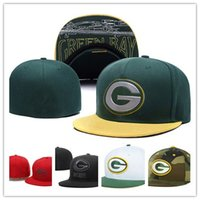 bay style - Green Bay Fitted Hat Baseball Cap Thousands Style American Football Hat For Men Packer Rugby Hat Women Sport Hats Mix Order